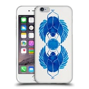 Official Cat Coquillette Insects Navy Scarab Soft Gel Case For Apple Iphone 6 / 6S