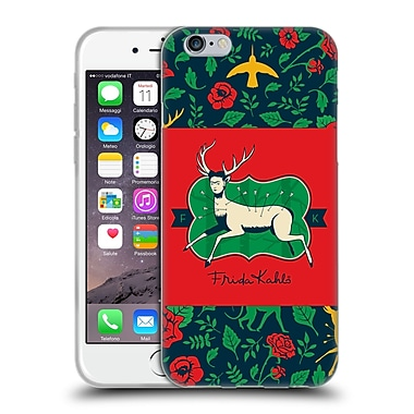 Official Frida Kahlo Icons Deer Soft Gel Case For Apple Iphone 6 / 6S