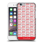 Official Frida Kahlo Typography Lover Red Hard Back Case For Apple Iphone 6 / 6S