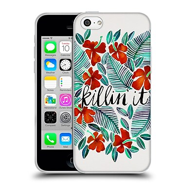 Official Cat Coquillette Quotes Typography 4 Killin' It Red Soft Gel Case For Apple Iphone 5C
