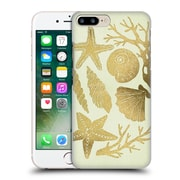 Official Cat Coquillette Sea Seashells Gold Hard Back Case For Apple Iphone 7 Plus
