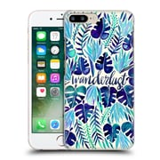 Official Cat Coquillette Quotes Typography 5 Wanderlust Blues Hard Back Case For Apple Iphone 7 Plus