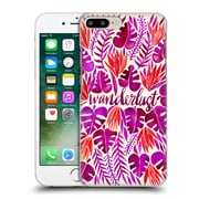 Official Cat Coquillette Quotes Typography 5 Wanderlust Magenta Hard Back Case For Apple Iphone 7 Plus