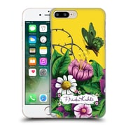 Official Frida Kahlo Purple Florals Butterfly Hard Back Case For Apple Iphone 7 Plus