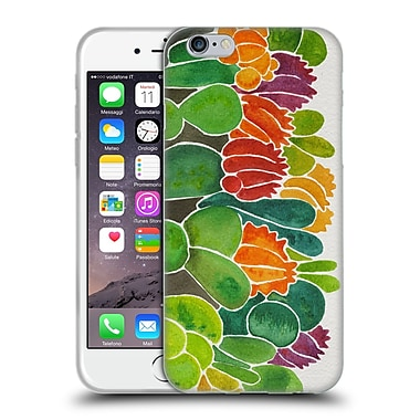 Official Cat Coquillette Nature Succulents Soft Gel Case For Apple Iphone 6 / 6S
