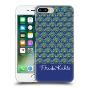 Official Frida Kahlo Peacock Feather Pattern Hard Back Case For Apple Iphone 7 Plus