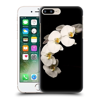Official Elena Kulikova Orchids White 3 Hard Back Case For Apple Iphone 7 Plus
