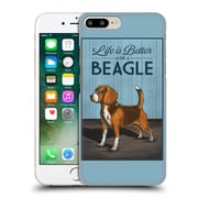 Official Lantern Press Dog Collection Beagle Hard Back Case For Apple Iphone 7 Plus