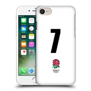 Official England Rugby Union 2016/17 Home Kit Position 7 Hard Back Case For Apple Iphone 7