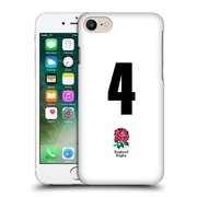 Official England Rugby Union 2016/17 Home Kit Position 4 Hard Back Case For Apple Iphone 7