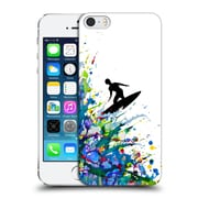 Official Marc Allante Silhouettes A Pollock Point Break Hard Back Case For Apple Iphone 5 / 5S / Se