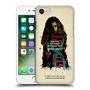 Official Orphan Black Who Am I Helena Helix Hard Back Case For Apple Iphone 7