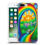 Official Drew Brophy Surf Art Rainbow Ride Hard Back Case For Apple Iphone 7 Plus