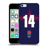 Official England Rugby Union 2016/17 Alternate Kit Position 14 Hard Back Case For Apple Iphone 5C