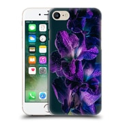 Official Elena Kulikova Orchids Purple Gladiola Hard Back Case For Apple Iphone 7