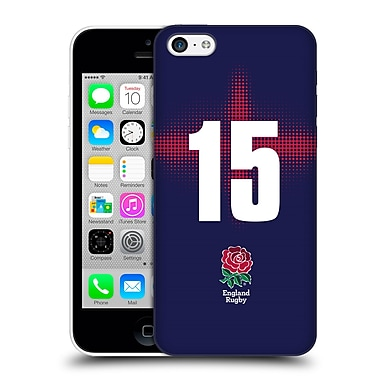 Official England Rugby Union 2016/17 Alternate Kit Position 15 Hard Back Case For Apple Iphone 5C
