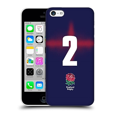 Official England Rugby Union 2016/17 Alternate Kit Position 2 Hard Back Case For Apple Iphone 5C