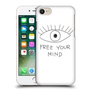 Official Efty Quotation Mind Hard Back Case For Apple Iphone 7