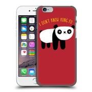 Official Dinomike Fun Illustrations Regular Panda Hard Back Case For Apple Iphone 6 / 6S