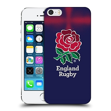 Official England Rugby Union 2016/17 The Rose Alternate Kit Hard Back Case For Apple Iphone 5 / 5S / Se