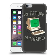 Official Dinomike Fun Illustrations My Memory Is Terrible Hard Back Case For Apple Iphone 6 / 6S