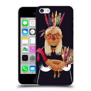 Official Oilikki Animals Native American Hard Back Case For Apple Iphone 5C