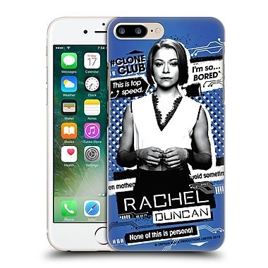 Official Orphan Black #Cloneclub Rachel Duncan Hard Back Case For Apple Iphone 7 Plus