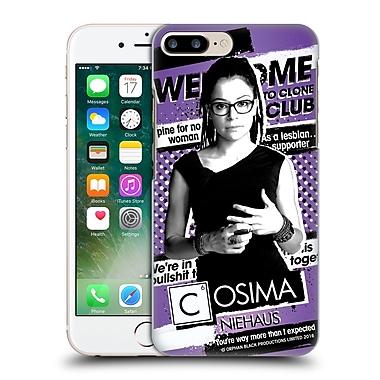 Official Orphan Black #Cloneclub Cosima Niehaus Hard Back Case For Apple Iphone 7 Plus