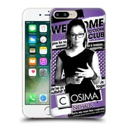 Official Orphan Black #Cloneclub Cosima Niehaus Hard Back Case For Apple Iphone 7 Plus