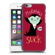 Official Dinomike Fun Illustrations Mornings Suck Hard Back Case For Apple Iphone 6 / 6S