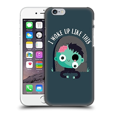 Official Dinomike Fun Illustrations I Woke Up Like This Hard Back Case For Apple Iphone 6 / 6S