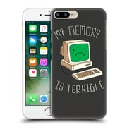 Official Dinomike Fun Illustrations My Memory Is Terrible Hard Back Case For Apple Iphone 7 Plus