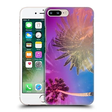Official Elena Kulikova Tropical Sunshine Palm Trees Hard Back Case For Apple Iphone 7 Plus