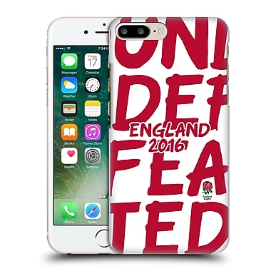 Official England Rugby Union 2016 Unbeaten England 2016 Hard Back Case For Apple Iphone 7 Plus