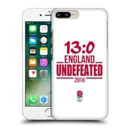 Official England Rugby Union 2016 Unbeaten Undefeated Hard Back Case For Apple Iphone 7 Plus