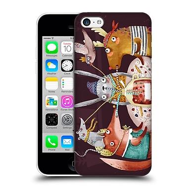 Official Oilikki Animals Fruit Drink Hard Back Case For Apple Iphone 5C