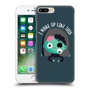 Official Dinomike Fun Illustrations I Woke Up Like This Hard Back Case For Apple Iphone 7 Plus