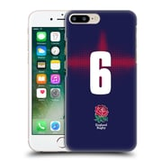 Official England Rugby Union 2016/17 Alternate Kit Position 6 Hard Back Case For Apple Iphone 7 Plus