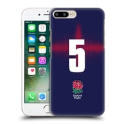 Official England Rugby Union 2016/17 Alternate Kit Position 5 Hard Back Case For Apple Iphone 7 Plus