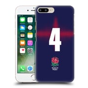 Official England Rugby Union 2016/17 Alternate Kit Position 4 Hard Back Case For Apple Iphone 7 Plus
