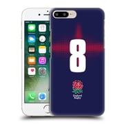 Official England Rugby Union 2016/17 Alternate Kit Position 8 Hard Back Case For Apple Iphone 7 Plus