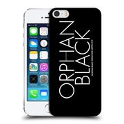 Official Orphan Black Logo & Helix White Logo Hard Back Case For Apple Iphone 5 / 5S / Se