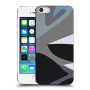 Official Magdalena Hristova Clean Lines Grey 3 Hard Back Case For Apple Iphone 5 / 5S / Se