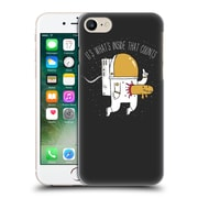 Official Dinomike Fun Illustrations Space Sucks Hard Back Case For Apple Iphone 7