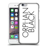 Official Orphan Black Logo & Helix Black Logo Hard Back Case For Apple Iphone 6 / 6S