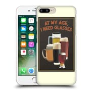 Official Lantern Press Man Cave At My Age I Need Glasses Hard Back Case For Apple Iphone 7 Plus