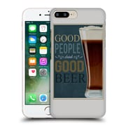 Official Lantern Press Man Cave Good People Hard Back Case For Apple Iphone 7 Plus