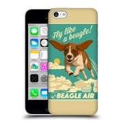 Official Lantern Press Dog Collection Fly Like A Beagle Hard Back Case For Apple Iphone 5C