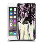Official Nika Martinez Tropical Purple Foliage Hard Back Case For Apple Iphone 6 / 6S