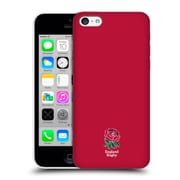 Official England Rugby Union 2016/17 The Rose Plain Red Hard Back Case For Apple Iphone 5C